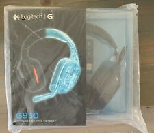 LOGITECH G930 Wireless Gaming Headset (for PC & PS4) **NEW Sealed