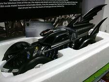 BATMOBILE BATMAN FOREVER 1995 noir 1/18 HOT WHEELS ELITE BCJ98 voiture miniature