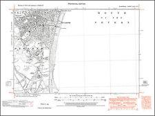 Penarth, old map Glamorgan 1947: 47SE repro Wales