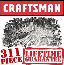 NEW! Craftsman 311 Piece Mechanics Steel Tool Set Ratcheting Combination Wrench