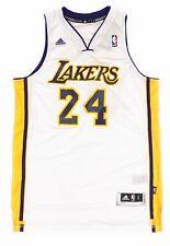 Adidas White Kobe Bryant #24 Swingman Jersey