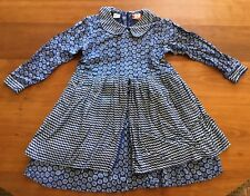 184506f7fc6b Blue Rayon Long Sleeve Dresses (Sizes 4   Up) for Girls