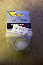 """NEW Thrifco 170-T Female Faucet Areator (55/64"""" X 27 THD)"""