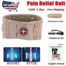 Latest Dr Ho's Decompression Belt Back Brace Lumbar Support & Extender Belt