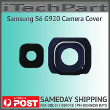 Camera Lens Cover With Frame For Samsung Galaxy S6 G920 Replacement BLUE