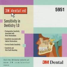 3M Dental Ed: Sensitivity In Dentistry PC MAC CD restoration dentin bleaching