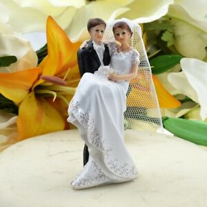 Groom Carrying Bride - Bride and Groom Wedding Cake Topper