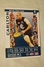 CARLTON - Best and Fairest Wildcard - Chris Judd