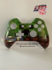 """Limited Edition Custom Xbox One Controller Front Shell """"Pixel Blocks"""" (Glossy)"""
