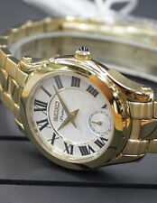 Seiko Premier Gold Tone Small Second Hand Ladies Watch SRKZ74P1