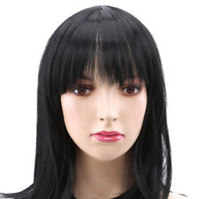 Women's Medium Straight Full Wig Synthetic Hair Cosplay Party Anime Hair Wigs S