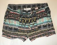 American Rag Multi Color Floral Lightweight Boho Hippie Shorts Size XS
