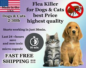 25 instant Flea Killer for Dogs 2-30lb