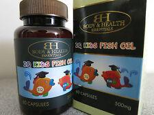 Body & Health IQ Kids Fish Oil 500mg 60 Capsules
