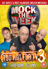 DVD:MOCK THE WEEK - TOO HOT FOR TV 3 - NEW Region 2 UK