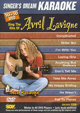 Singer's Dream Karaoke DVD SDK 9509 Avril Lavigne BRAND NEW SEALED REGION FREE