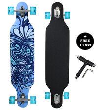 DRAYCO 42 Inch Drop Through Maple Deck Complete Longboard Skateboard Cruiser