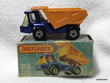 ATLAS TRUCK no.23  Good - Matchbox Superfast diecast model in original box