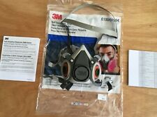 3M 6100/07024 Small Half Face Respirator NEW IN BAG
