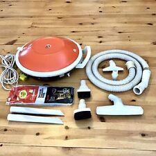 Vintage HOOVER Celebrity Flying Saucer Vacuum S3011 w/ Hose & Accessories