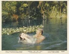 """TARZAN THE APE MAN""-ORIGINAL PHOTO-COLOR-DENNY MILLER-IN WATER"