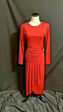 Vintage Jonathan Martin JMPM Red Cocktail Dress