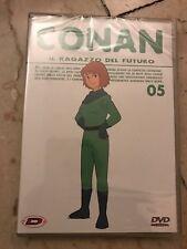DVD - Conan il Ragazzo del futuro - DVD 5 - DYNIT - 1 ed - RARISSIMO - SIGILLATO