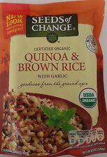 Seeds Of Change Organic Quinoa And Brown Rice 1 X 8.5 Oz Bag