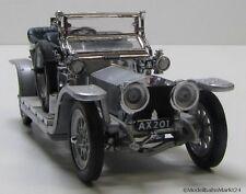 Franklin Mint Rolls Royce Silver Ghost de largo aprox. 10,8 cm