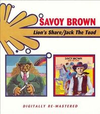 Savoy Brown - Lion's Share / Jack the Toad CD UK - Import