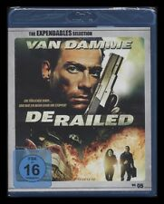 BLU-RAY DERAILED - THE EXPENDABLES SELECTION - JEAN-CLAUDE VAN DAMME *** NEU ***