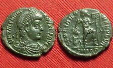 Año 364/375. VALENTINIANO I. Centenional. AE/3 Cobre 17/18 Mm. Aquilea.