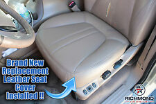 2001 Ford Expedition Eddie Bauer 2WD 4X4 *Driver Bottom Leather Seat Cover TAN*