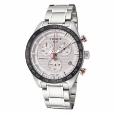 Tissot Men's T1004171103100 PRS 516 42mm Silver Dial Stainless Steel Watch