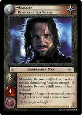 LOTR TCG Aragorn Defender of Free Peoples 0P47 PROMO Countdown Collection VF
