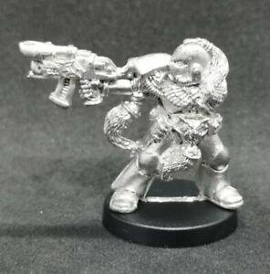 Space Wolves Wolf Guard In Power Armour Metal OOP 1992 Warhammer 40k Marines