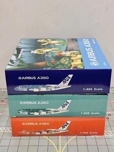 RARE Phoenix 1:400 ANA Airbus A380 Set of 3 JA381A JA382A JA383A