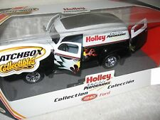 1:18 or 1:19? ford 1940 holley performance panel van matchbox collectibles yuk00