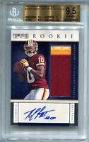 2012 Panini Prominence Robert Griffin III Patch Auto RC BGS 9.5 64/70 F7578681