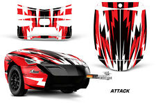 AMR Racing Freedom Trailer Graphic Kit Decal Wrap For CanAm Spyder ATTACK RED