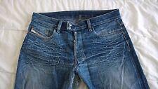 Vieux Jeans DIESEL fabriqué en Italie OCCASION TRÈS ABÎME l'entrejambe W 33 L32