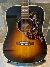 Stunning 2019 Gibson Hummingbird Vintage Sunburst L.R. Baggs Pickups OHSC (346)