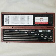 Starrett No 823fz Tubular Inside Micrometer Set 1 12 To 32 Range