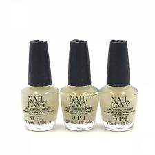 Opi Original Nail Envy Nail Strengthener Polish Natural Formula Mini 3.7mL3pcs