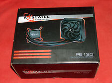 NEW Rosewill PB120 CPU Liquid Cooler Closed Loop PC Water Cooling 120mm PWM Fan