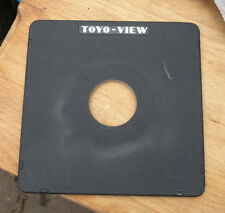 original Toyo monorail  5x4 10x8   lens board copal compur  1  42mm hole