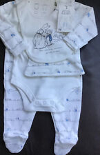 Mothercare Peter Rabbit ( Beatrix Potter ) 4 Piece Set Age 1-3 Months 🐰