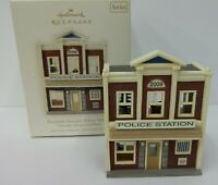 Hallmark Keepsake Christmas Ornament Nostalgic Keepsake Korners Police Station