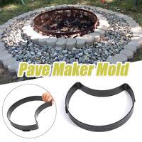 Reusable Path Floor Mould Plastic Garden Lawn Paving Brick Cement