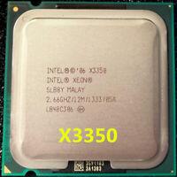 Intel Xeon X3350 CPU Quad Core 2.66Hz 1333MHz 12MB SLB8Y LGA775 Processors